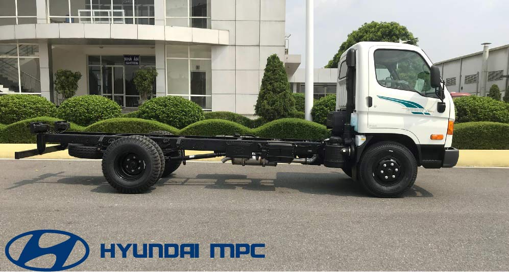 cabin chassis hyundai 110s