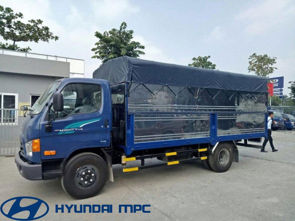 xe tai hyundai mighty 110S thanh cong thung mui bat