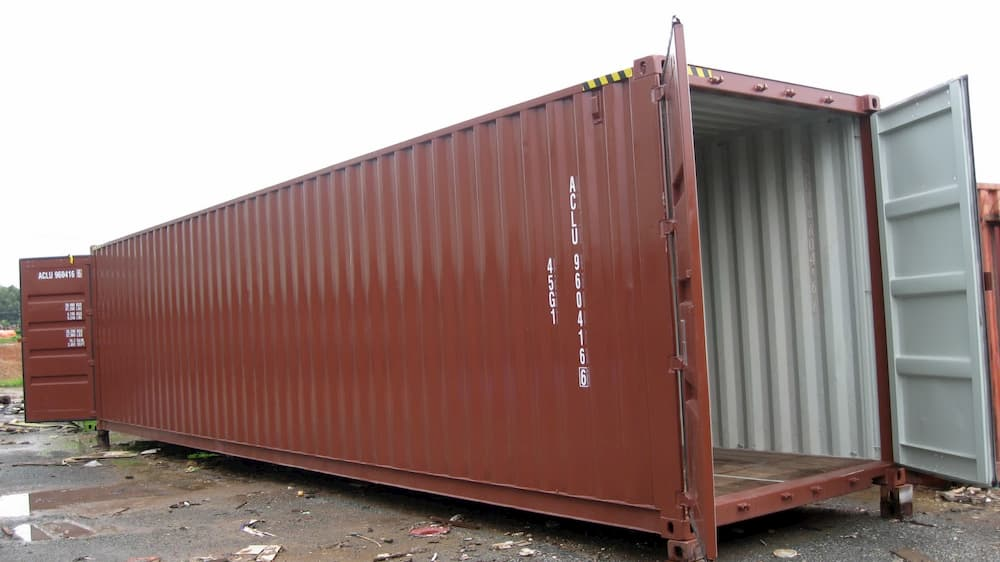 Container 40 feet và kích thước container 40 feet