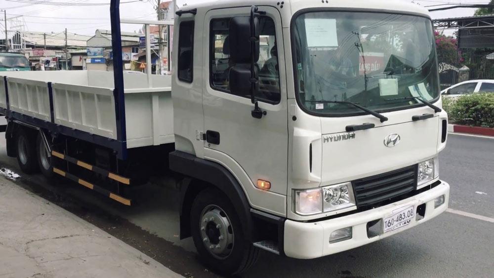 xe tải hd240 thùng lửng