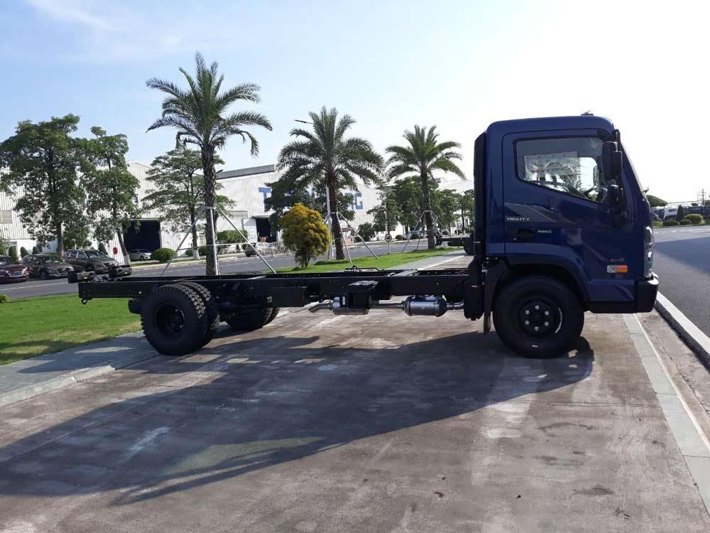 Hyundai mighty ex 8 màu xanh