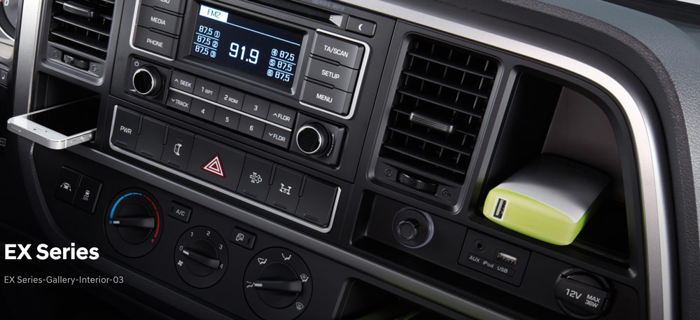 radio, máy lạnh mighty ex 8